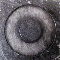 BLACK RING SLATE GRAPHITE/MAKRAME 10x10