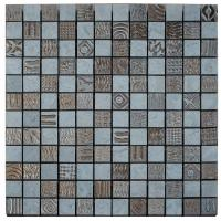 Mosaico Endor 2.5x2.5 NEW SMOKE/BRONZO 30.5x30.5