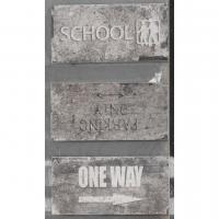 Road Signs Mix WALL STREET 10x20
